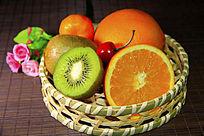水果篮素材