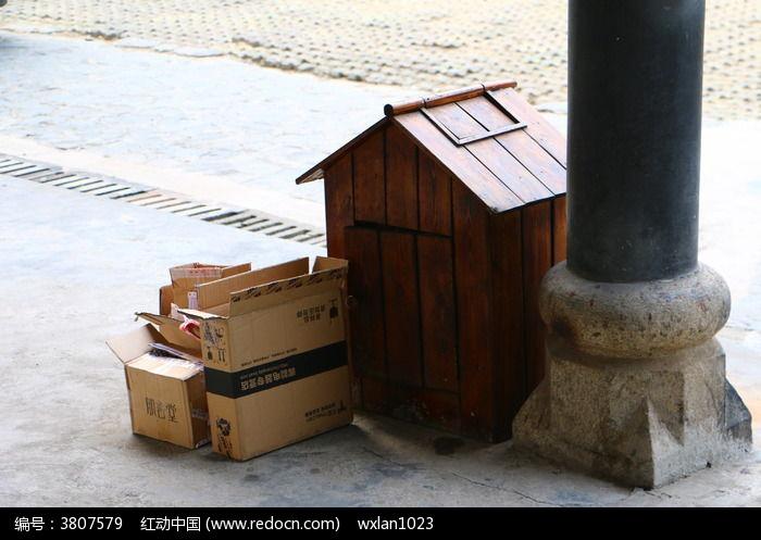 创意垃圾桶图片,高清大图