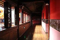 古民居楼上走廊