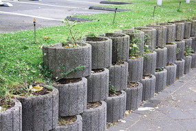 德国景观花池挡土墙