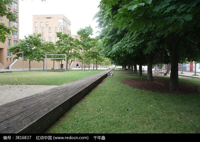 德国景观木栈道