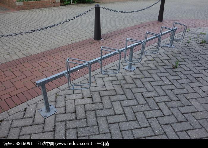 德国景观自行车停车位图片