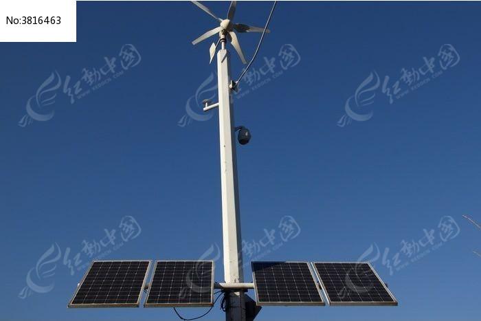 太阳能发电路灯图片,高清大图