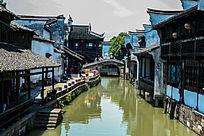 小桥流水及两岸古建筑