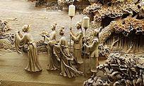 古代人物雕塑作品
