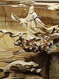 老仙人人物雕塑作品