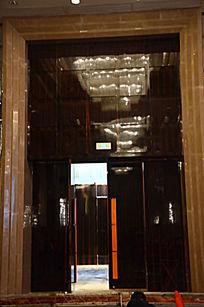 高档酒店宴会厅大理石门框
