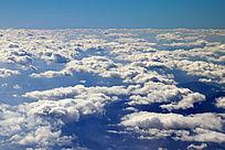 高空的云层