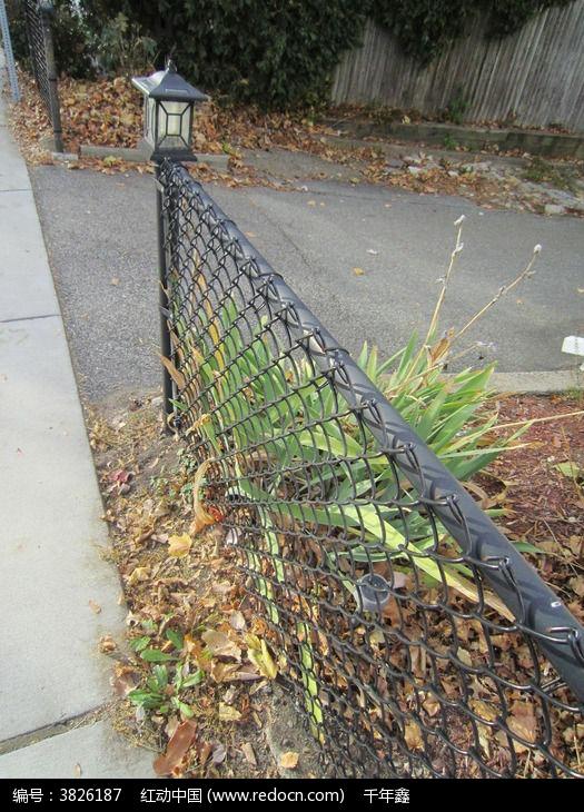 铁栅栏图片,高清大图_园林景观素材