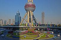 上海东方明珠底球