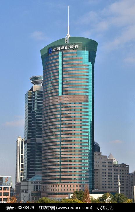 上海陆家嘴中国建设银行图片