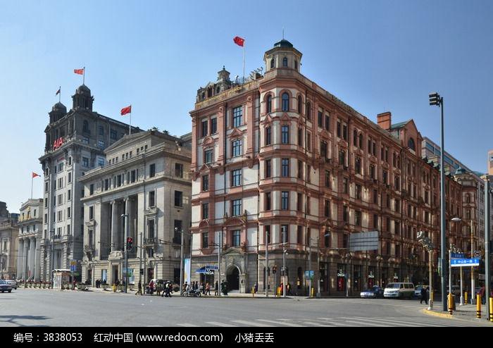 上海外滩欧式建筑群图片