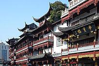 上海老街古建筑一角