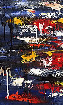 抽象色块装饰画 抽象画