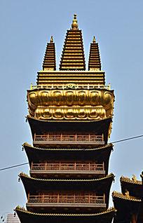 上海静安寺金字塔