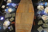 小船荷花池