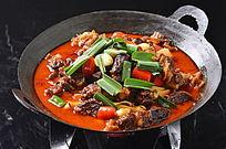 干锅牛腩豆腐皮