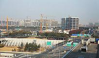 建设中的虹桥商务区