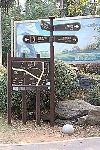 旅游景区景点各线路公布牌导示牌
