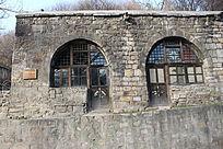 蒙山脚下的寺底古窑洞