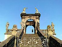 欧洲古老的雕塑