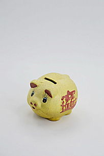 金猪储钱罐图片