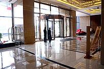 酒店高档尊贵精致大堂装修实景