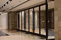 沈阳商业城大堂玻璃门