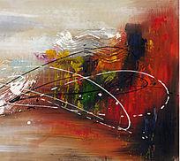 抽象油画 欧美油画