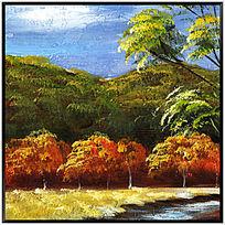 风景油画 油画风景