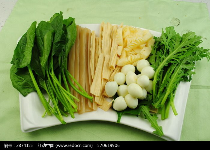 火锅配菜拼盘