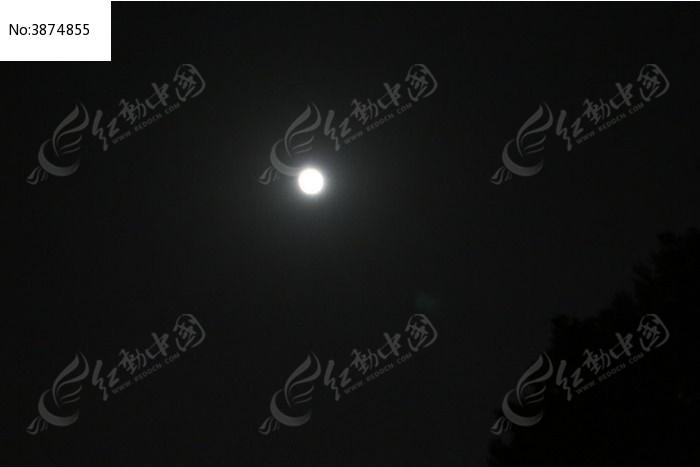 夜晚上的月亮图片,高清大图