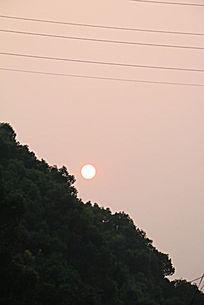 落日 夕阳西下
