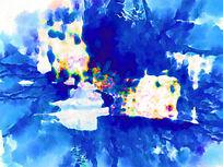 油画抽象 抽象印花 抽象图案