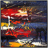 创意抽象画 装饰画 油画