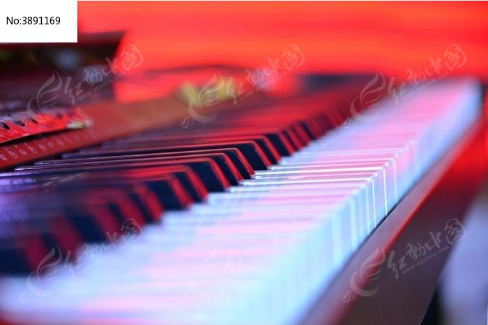 电子琴的琴键