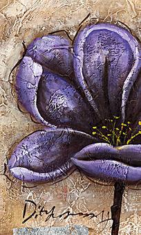 欧美油画 花卉装饰画油画