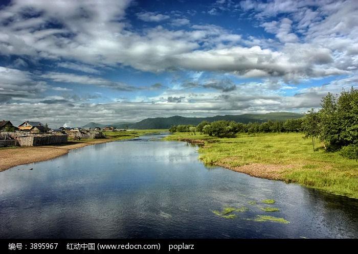 边境小镇图片,高清大图_自然风景素材