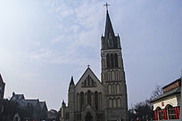 天主教堂外景