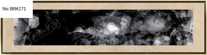 中式风格床头装饰画图片