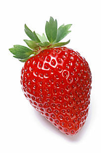 草莓唯美写真