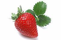 草莓与叶子