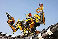 大黄蜂汽车机械人