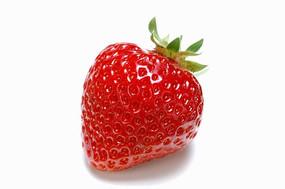 高亮草莓特写