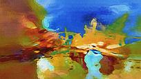 油画抽象 抽象艺术