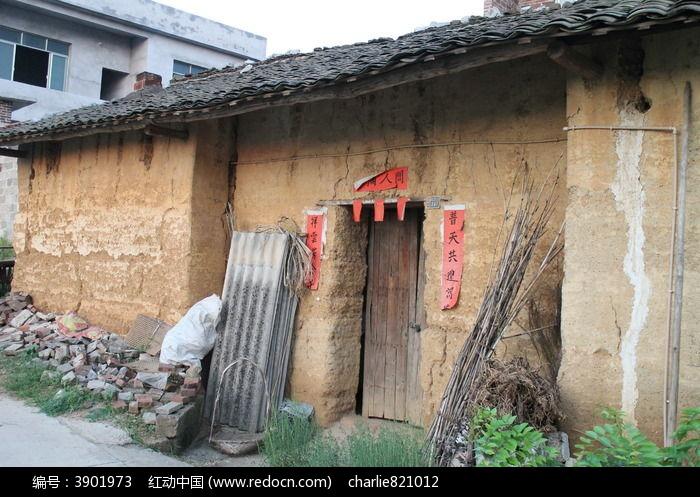 广西象州农村风光泥房