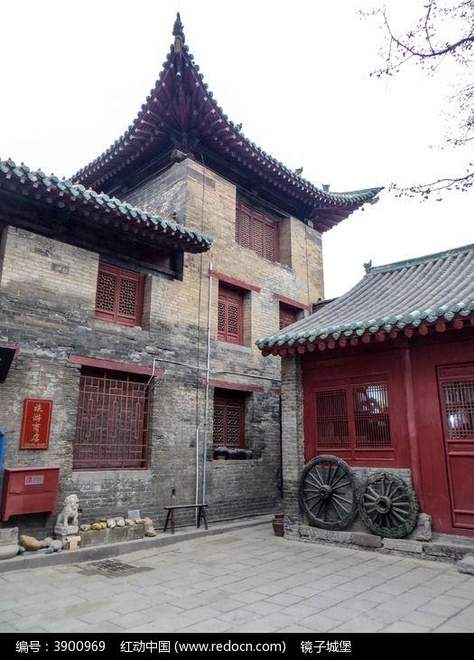 洛阳民俗博物馆 冬景图片