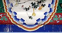 壁画葫芦与山雀