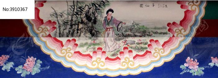 壁画花仙子图片