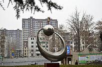 城市园林不锈钢雕塑